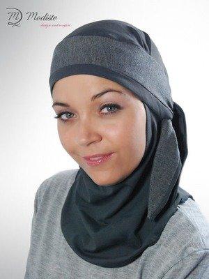 Modiste Hijab Karima Grey
