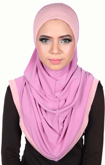 Express One Piece Hijab Pink/Rose
