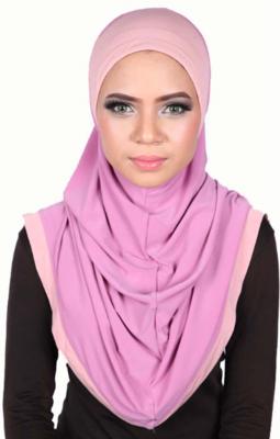 Express One Piece Hijab Pink/Rose