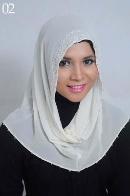 Hangover Hijab White