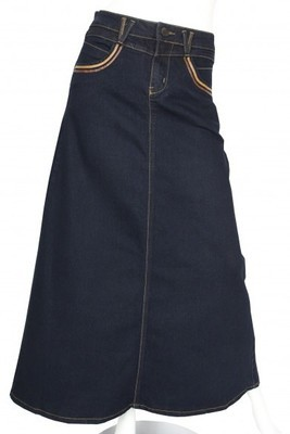 Jeansrock / Jupe en jeans