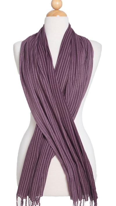 Schal - Echarpe - Wrap Purple