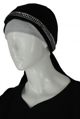 Strass Stirnband / Bandeau élastique / headband