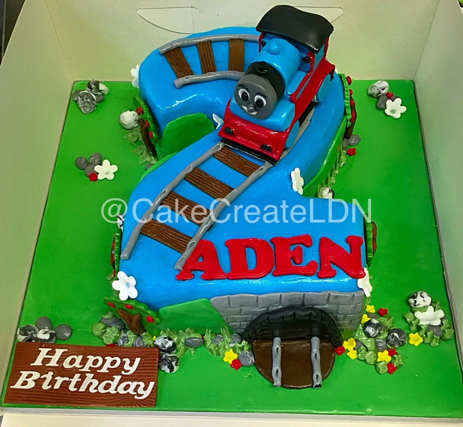 Awesome Number 2 Thomas Tank Engine Theme Birthday Cards Printable Trancafe Filternl