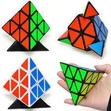 Pyraminx Pyramid Speed Magic Cube Puzzles 3x3 Speed Twist Cube Smart Toy Game