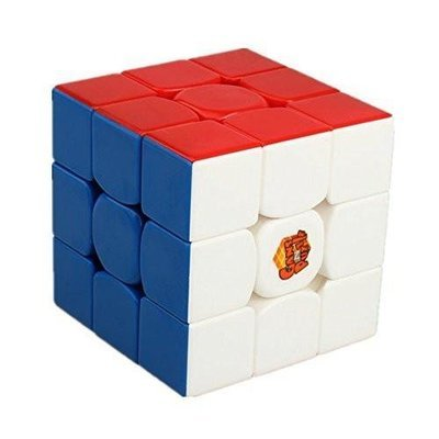 Gans 357 Stickelress Magic Cube 3x3 Speed Rubik Cube