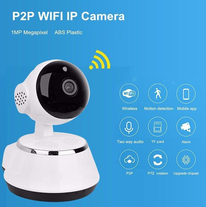 icsee HD 720P Mini IP Camera Wifi Wireless P2P Security CCTV
