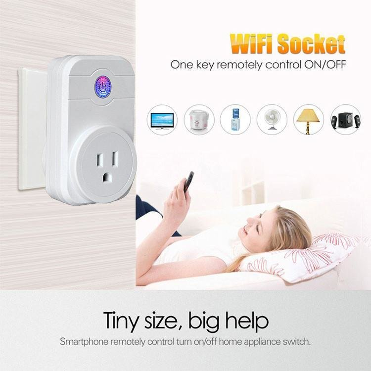 Smart Wifi Plug Socket - iOS Android Phone Control