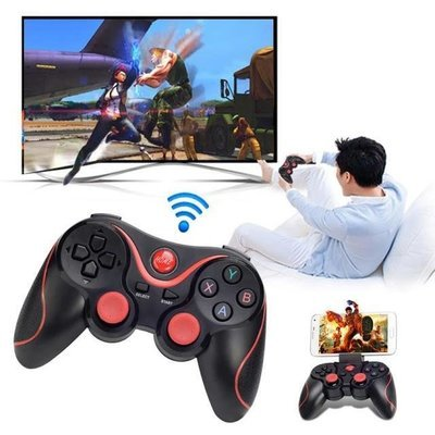 Wireless Bluetooth Gamepad Game Controller for Android Smartphone, Android TV Box