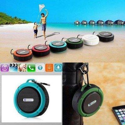 Sporty Waterproof Bluetooth Speaker, Bathroom Speaker - Card Slot