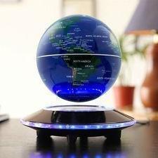 UFO Magnetic Levitating Luminous Floating Globe