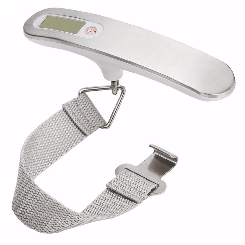 Travel Digital Luggage Scale 50 Kg Capacity, Smart Measuring Weight, High Precision