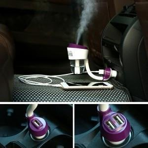 Nanum II Car Air Humidifier - Generation 2 -Double USB Charging Ports