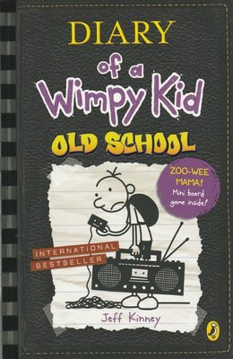 Diary Of A Wimpy Kid - Old School by Jeff Kinney