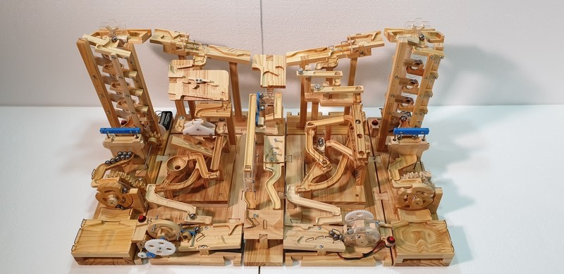 Marble Machine Plant - Double Sided type 2 ( Double Lifting Modules)