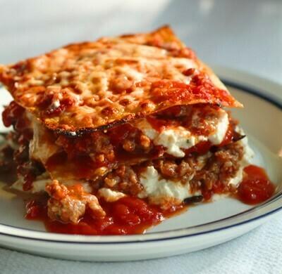 Smoked Lentil Bolognese Lasagna
