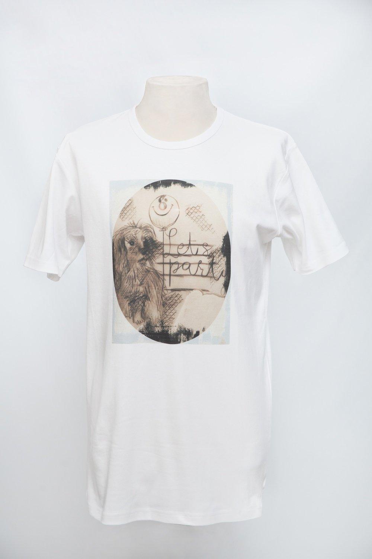 T-shirt uomo stampa DOG