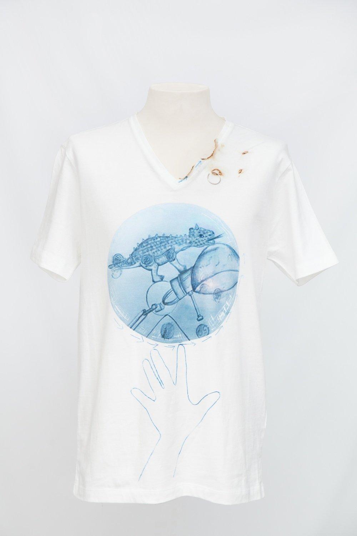 T-shirt uomo stampa CHAMELEON