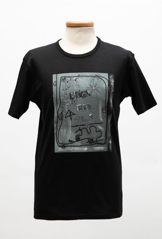 T-shirt uomo stampa REBUS