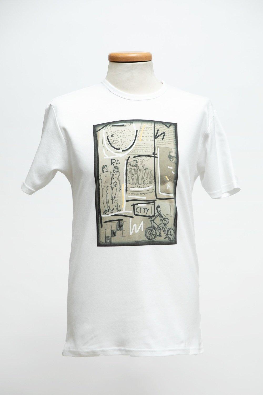 T-shirt uomo stampa CITY