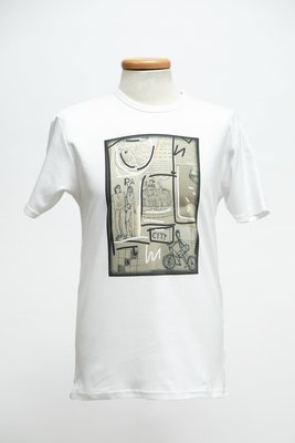 T-shirt uomo stampa CITY