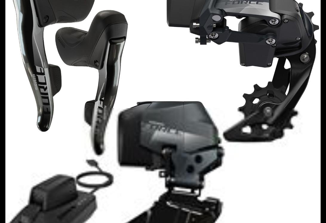 SRAM Force e-tap AXS rim brakes