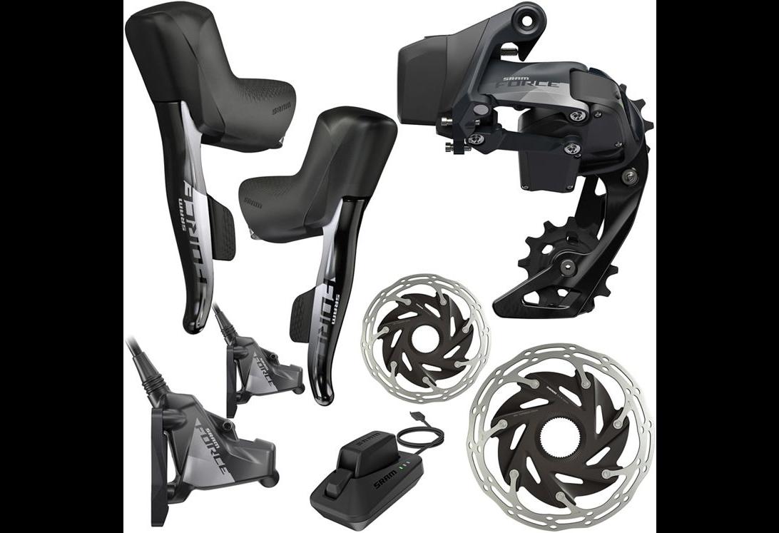 kit SRAM e-tap AXS disc brakes