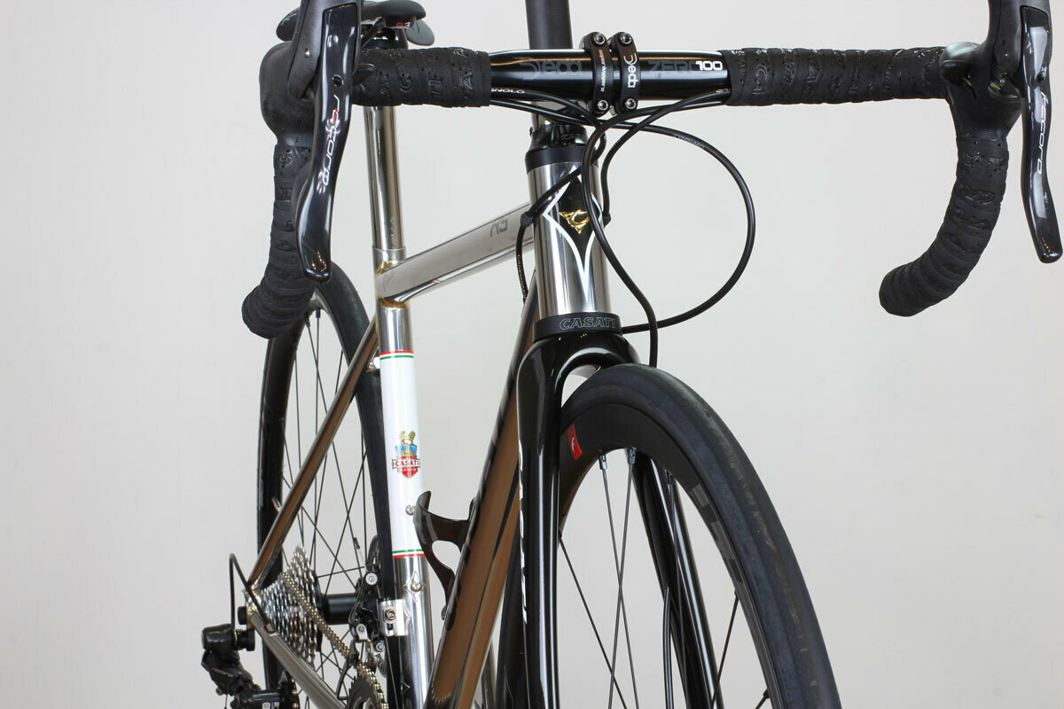ESPRESSO RS Inox polished/ disc brakes