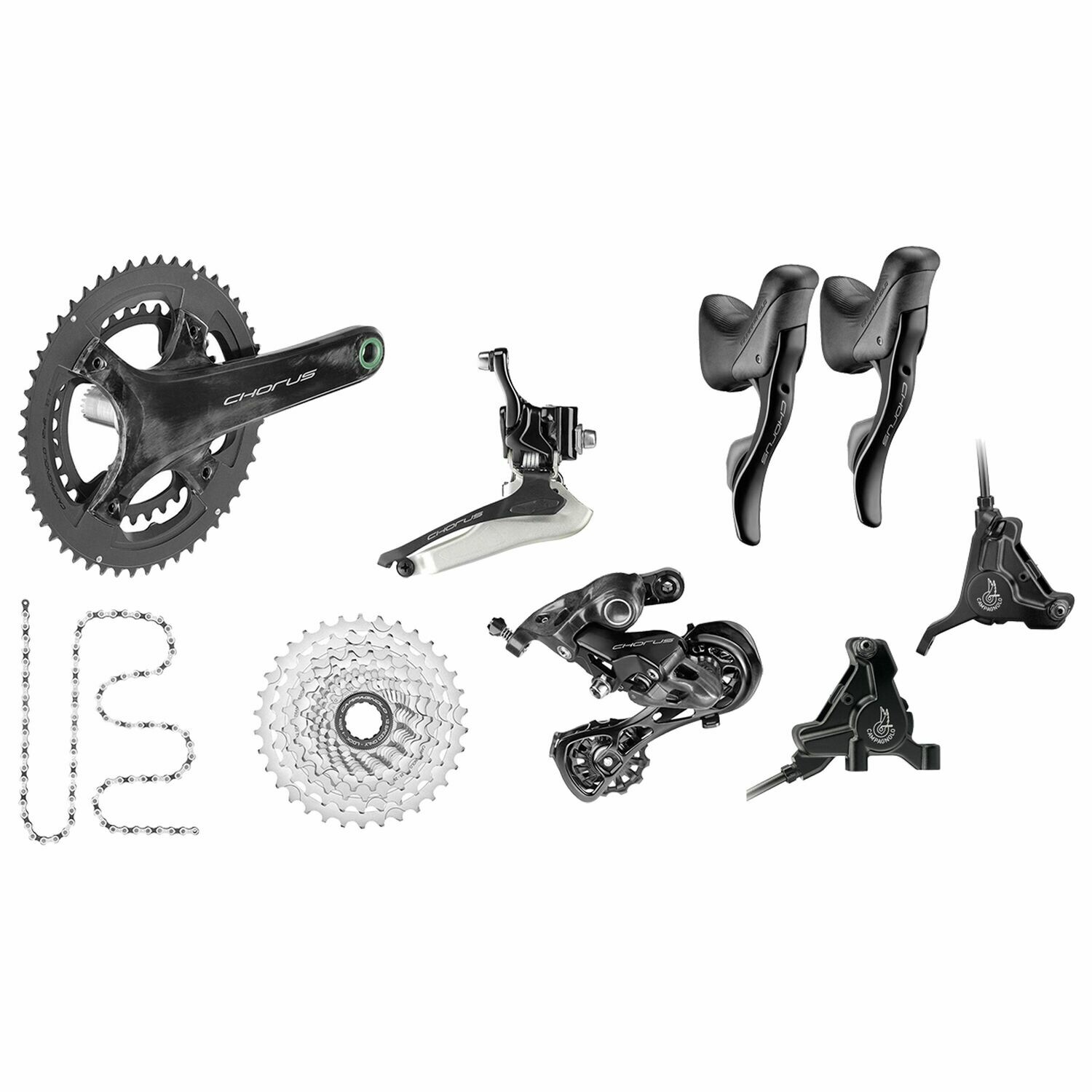 Chorus 12s disc brakes mechanical