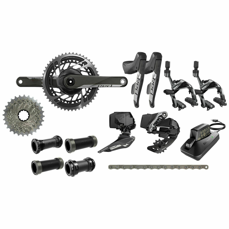 assembling kit SRAM e-Tap AXS rim brakes