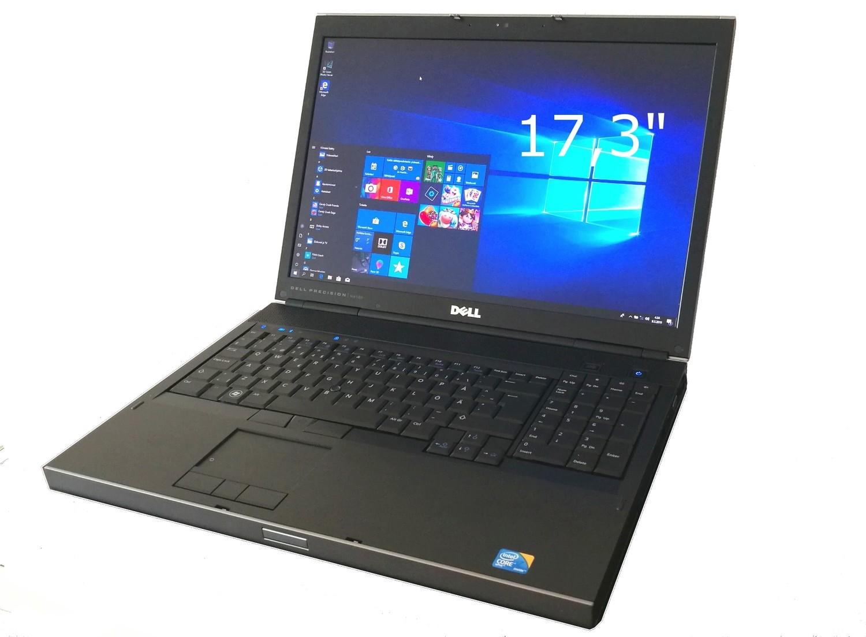 """DELL Precision M6500, 17,3"""":n näytöllä , Intel Core i7, Nvidia Quadro"""