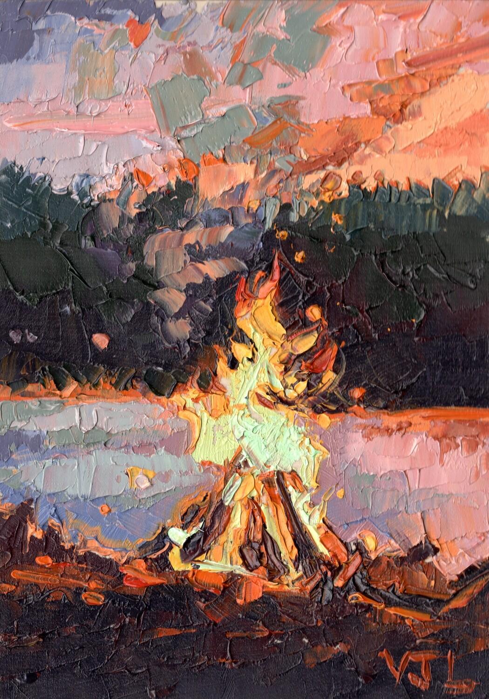 Pink Campfire