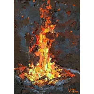 Tall Campfire
