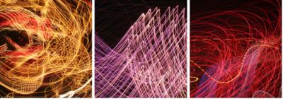 Three Lights in Motion