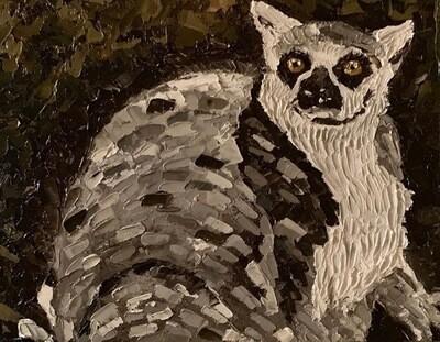Lemur Illustration