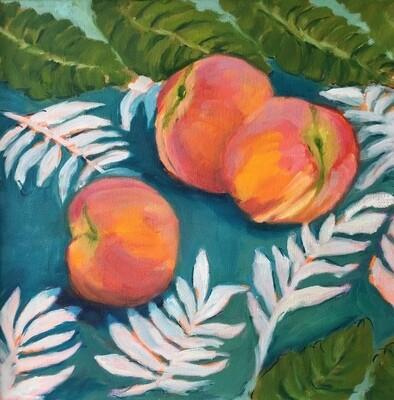 Peaches on Sarong