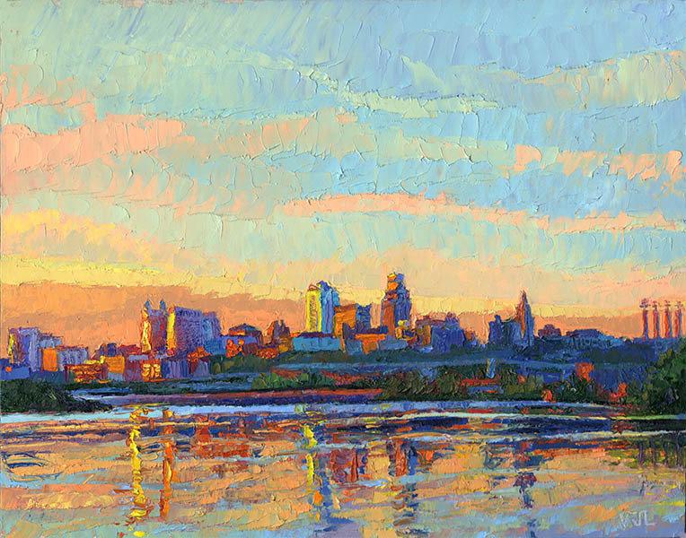 Kaw Point Sunrise I