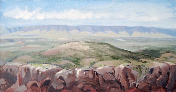 "Daniel Crowe ""Bighorn Mountains"" 00300"
