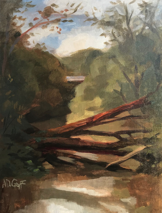 "Annie DeGraff ""Crossing the Creek"" 00306"