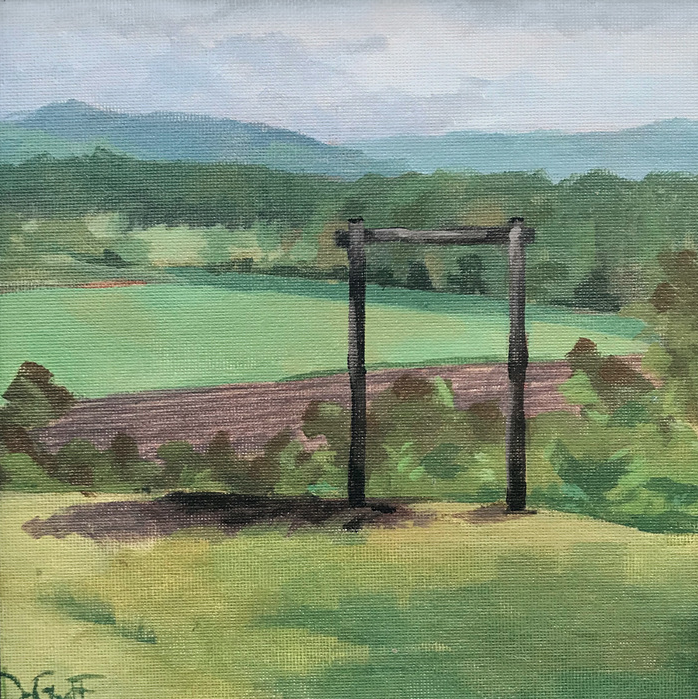 "Annie DeGraff ""River Bottoms Gate"" 00307"