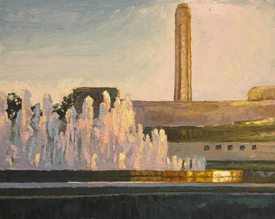 Liberty Memorial with Fountain