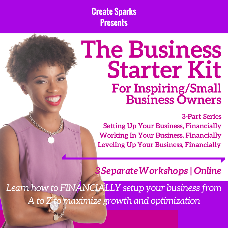 The Business Starter Kit: 3 Part Series
