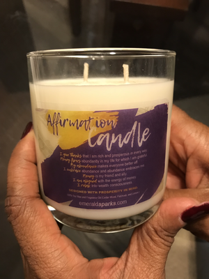Affirmation Candle