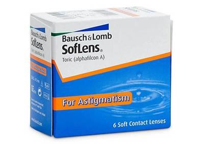 BAUSCH+LOMB SOFLENS ASTIGMATIC