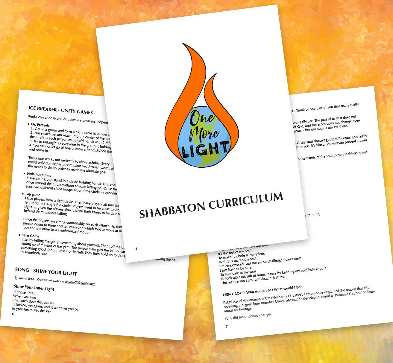 'Unite to Ignite' Shabbaton Program 00030