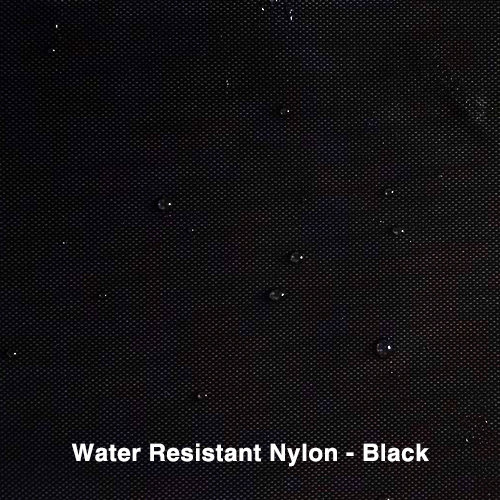 Black Water Resistant Nylon