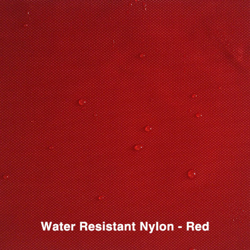 Red Water Resistant Nylon