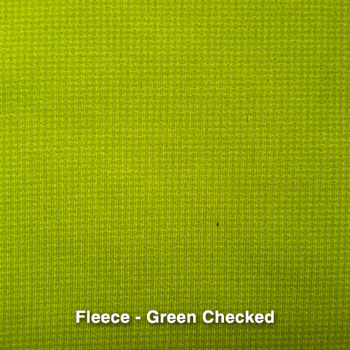 Green Checkered Fleece