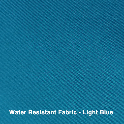 Light Blue Water Resistant Fabric