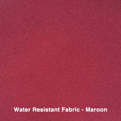 Maroon Water Resistant Fabric